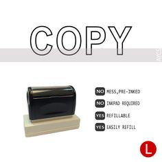 COPY, Pre-Inked Office Stamp, 760310-D