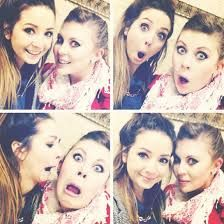 I love Zoella and Louise aka Sprinkle of glitter they are so inspiring and funny :) <3