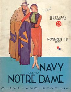 1932 Navy - Notre Dame football program
