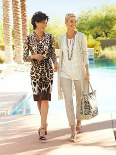 Classy Clothes for Over 50 | Pinned by Stephanie Mirones Evans