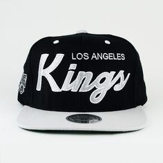 Los Angeles Kings SNAPBACK Mitchell And Ness (Green Under) My Christmas  List 38092ee2b97