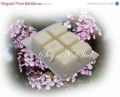 LILAC // Soy Wax Tarts // Soy-N-Suds SPECIAL SALES EVENT ON NOW 25% OFF ENTIRE STORE