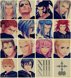 Kingdom hearts - Organization XIII