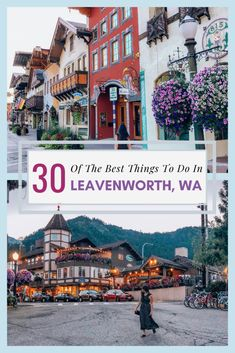Where to stay, what to do and where to eat in the gorgeous Bavarian town of Leavenworth, WA.  The Pacific Northwest is absolutely breathtaking, and Leavenworth, WA is no exception! In short, Leavenworth is the most charming and enchanting village nestled in the cusp of the Cascade Mountains that will steal your heart and leave you longing for more. There is no shortage of activities to do throughout the year in this magical town... Oh The Places You'll Go, Places To Travel, Places To Visit, Cascade Mountains, Rocky Mountains, Pacific Northwest, Pacific Coast, West Coast, Weekend Trips