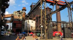 If you ever get the chance to go to Colours Of Ostrava definitely go Czech it out! A vibrant festival in the middle of an old coal mine factory!