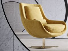 Fauteuil pivotant et relax . Mod: TELVA Egg Chair, Lounge, Furniture, Home Decor, Couches, Swivel Chair, Solid Wood, Arm Chairs, Airport Lounge