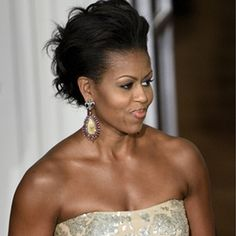K.michelle Hairstyles 2014 Michelle Obama's New Blunt Bob Hairstyle for 2014, #MichelleObama ...