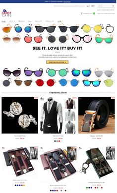 19db8476b3b Loot Lane offers a great selection of super sunglasses online at a very  best prices!
