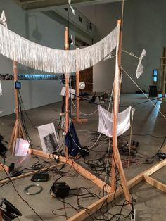 .dineo seshee bopape Contemporary Artists, Textile Art, November, Sculpture, Fine Art, Drawings, Outdoor Decor, Home Decor, November Born