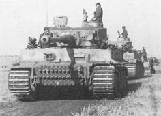 PzKpfw VI Tiger I from 2. SS Panzer Division Das Reich in Kursk.