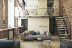 modern small loft jakyri's apartmnt
