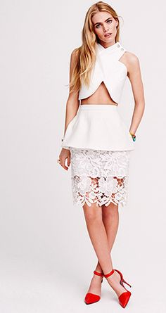 love...ONE by Cameo RAMPART SKIRT