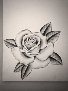 Download Free Black and grey rose by Mike Attack Instagram @mikeattack_tattoo ... to use and take to your artist.