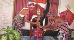 Head of the village of Old Town Keti Letpey  Lakor Island - Maluku Province Indonesia