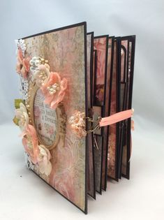 """STAMPERIA """"DREAM"""" MINI ALBUM- 8-1/2″ X 6-1/2″ By Valeri Stamperia is the newest paper line Shellie brought into the shop and we are so thrilled to have it. The paper is stunning and you will not be disappointed in any of the paper pads. Dream surely is exactly what it's called, a Dream with it's Read More"""