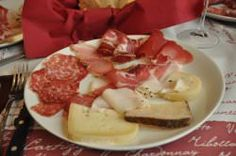 Umbrian sausages and meats in Italy