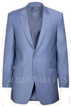 Navy Light Première Two Piece Suit with a matching lining.