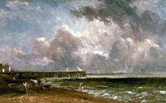 Yarmouth Pier, John Constable
