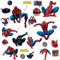 Spiderman Kids Room Decor Accessories