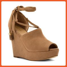 3949bbc5f1 MICHAEL Michael Kors Women's Hastings Wedge Sandals * Visit the image link  more details. (This is an affiliate link)
