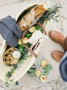 Todo preparado para un pequeño picnic playero ❇❇❇❇ Huuuuum Super fresco