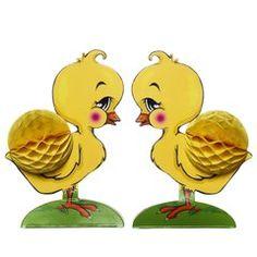 Papirdekor Honeycomb Chicken