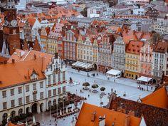 Wrocław Rynek i okolice - atrakcje Dolnego Śląska - ExploreTheWorld Virtual Travel, Virtual Tour, Best Cities In Europe, Travel Europe, Prague Castle, Ways To Travel, Most Beautiful Cities, Staycation, Old Town