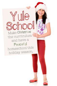 Yule School: Christmas Learning Activities. Ideas, resources, and activities for Christmas learning.