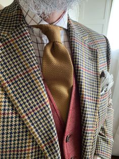 The Papa Bear of Men's Fashion Modern Gentleman, Gentleman Style, Flannel Suit, Bowler Hat, Classic Wardrobe, Business Outfits, Men Looks, Dog Days, Dapper