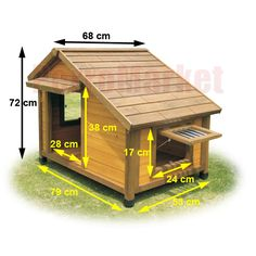 1000 images about casa para perros on pinterest - Casas para perros con palets ...