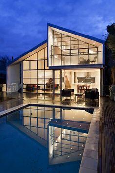 Blurred House