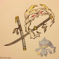 Tagged with pokemon, gaming, fanart; Play Pokemon, Cool Pokemon, Pokemon People, Pokemon Stuff, Anime Weapons, Fantasy Weapons, Monster Hunter, Digimon, Katana