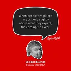 Richard Branson, Chairman, Virgin Group