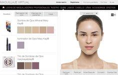 ¿Prefieres comparar online varios looks para ojos y decidir antes cuál es el que más te favorece? Visita nuestra herramienta del maquillaje virtual haciendo click en esta imagen.