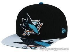 San Jose Sharks Gym Class Snapback Hats Brim Big Logo|only US$8.90 - follow me to pick up couopons.