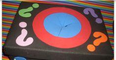 Olá, meninas!!!  Fiz essa caixa de surpresa, para eu usar em sala de aula com meusaluninhos.  Prometi e eles sempre me cobravam, quem...