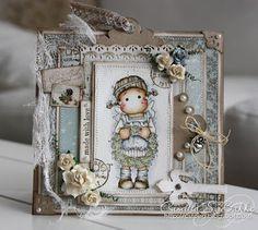 СкрапСчастье: Лифтинг открытки - Camilla