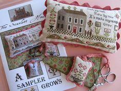 The Scarlett House - A Sampler Grows