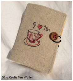 Tea Wallet | Ditto Crafts | madeit.com.au