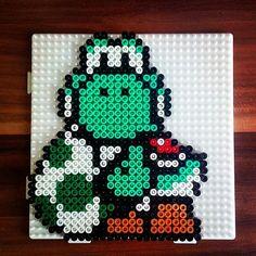 Yoshi perler beads by dimix20
