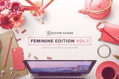 Custom Scene - Feminine Ed. - Vol. 1 by Román Jusdado on Creative Market