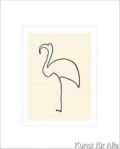 Pablo Picasso - Der Flamingo