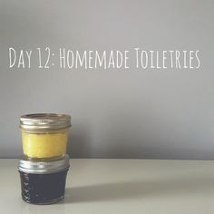 Zero Waste Nerd: 30 Days to Zero Waste (Day 12: Homemade Toiletries)