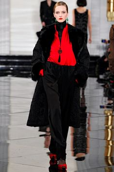 Ralph Lauren Fall 2011 Ready-to-Wear Collection Photos - Vogue