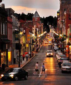 Staunton, VA - one of America's greatest Main Streets according to Travel + Leisure magazine. #JetsetterCurator