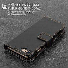 iPhone 7 Hülle, von Yousave Accessories [Brieftasche] PU Leder Tasche - Schwarz - http://www.xn--handyhllen-shop-4vb.de/produkt/iphone-7-huelle-von-yousave-accessories-brieftasche-pu-leder-tasche-schwarz/