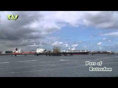 Port of Rotterdam: #Calandkanaal - #Thialf #Hermod - YouTube