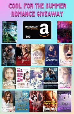 Cool for the Summer – YA/NA Contemporary Romance Giveaway (OPEN TO UNITED STATES RESIDENTS ONLY)