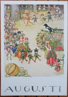 postcard - i mesi dell& - k. Elsa Beskow, Vintage Baby Pictures, Vintage Images, Christmas Pictures, Christmas Art, Baby Fairy, Months In A Year, Mail Art, Illustrators