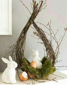 Spring decoration for Easter # Easter decoration Spring decoration . - Spring decoration for Easter # Easter decoration Spring decoration for Easter # Easter - Fleurs Diy, Spring Decoration, Deco Floral, Easter Celebration, Easter Holidays, Easter Party, Diy Wreath, Grapevine Wreath, Easter Baskets